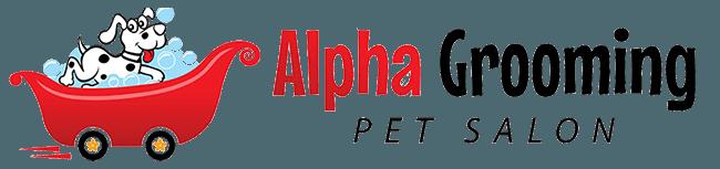 Alpha Grooming Pet Salon Logo